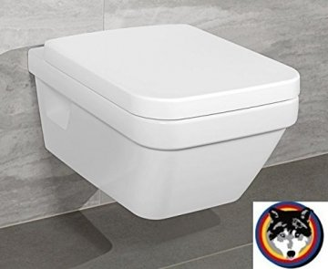 Villeroy & Boch Wand-WC Combi-Pack Architectura PLUS , DirectFlush, Spülrandlos C-plus - 1