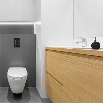 VMbathrooms ® Seifenspender in Premium Design - Handseifenspender aus Keramik - 6